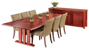 Redgum tables Melbourne