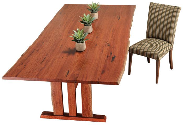 Custom made Redgum tables