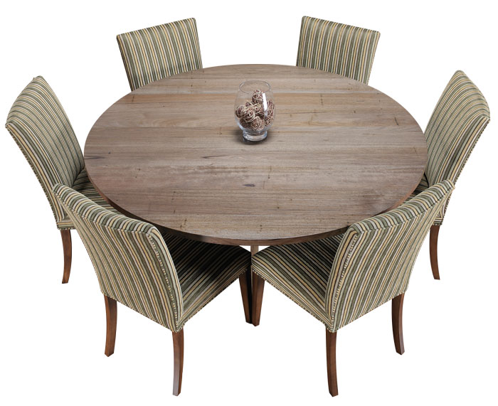 Round tables made to order