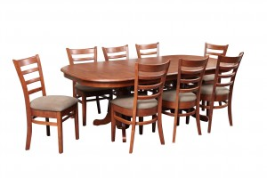 Vancouver Ext Table Mustang Chairs A Maple