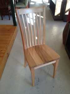 Timber seat chair