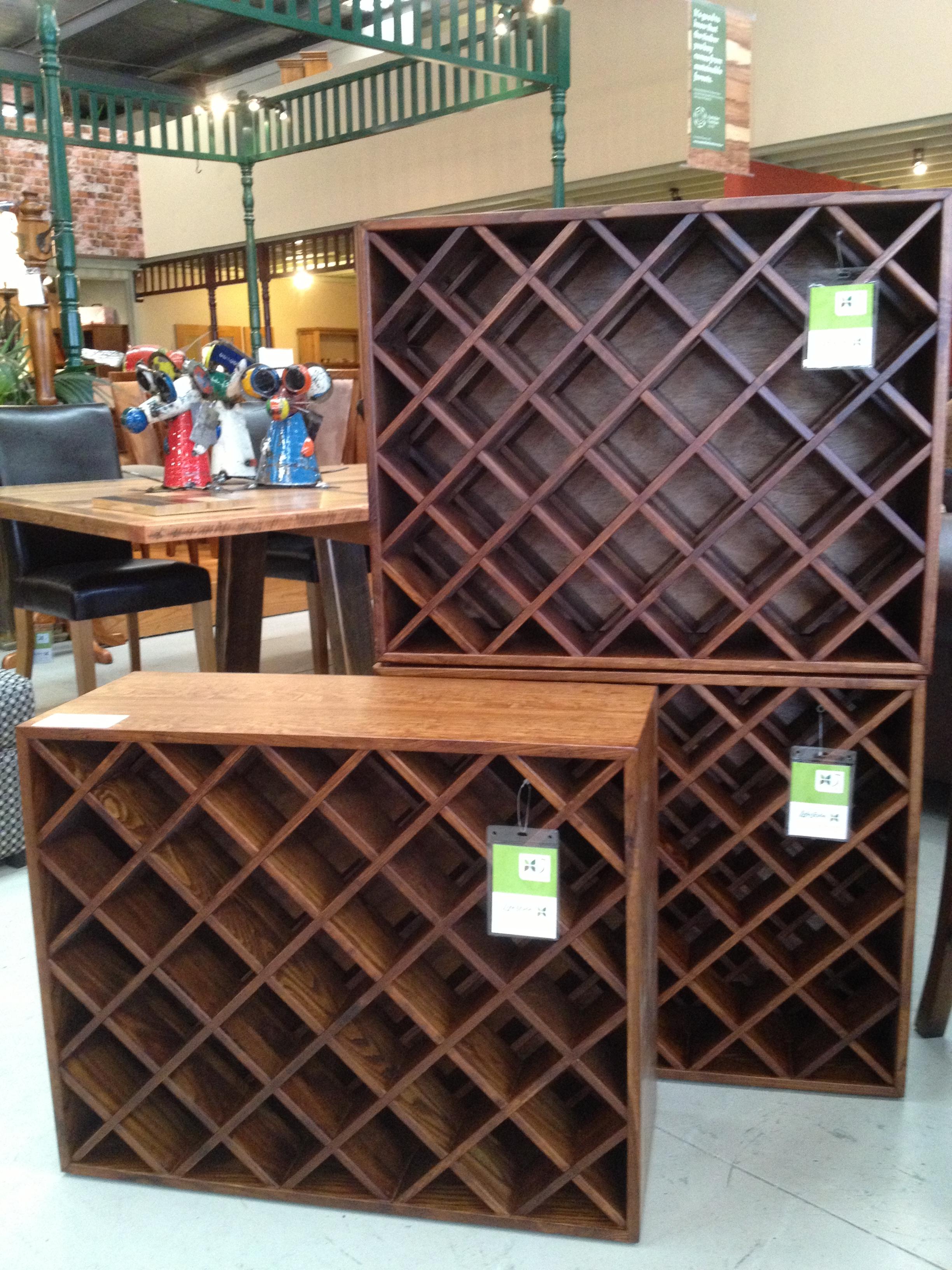 Timber wine racks for a DIY wine cellar - Timber Furniture ...
