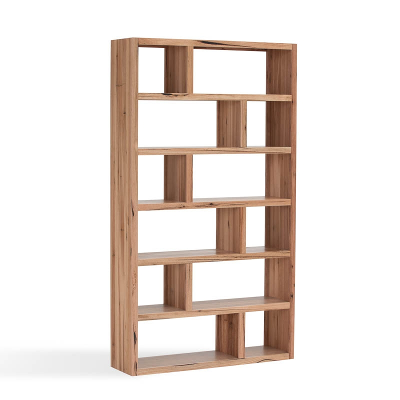 messmate bookcase great modern design with timber character